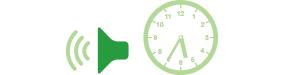 働き方改革-定時放送+音声合成