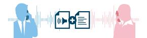 働き方改革-通話録音+音声認識